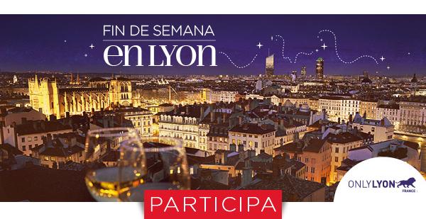 Juega y gana un fin de semana para 2 en Lyon