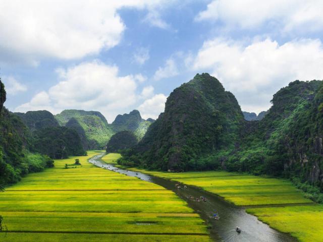 Ninh Binh, la paz que emerge de la vegetación