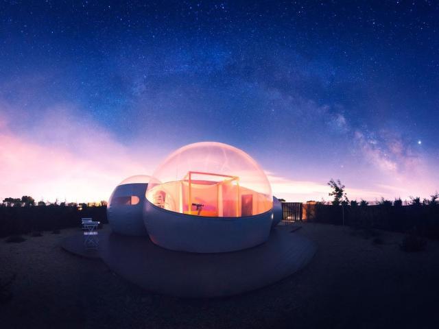 5 propuestas para domir a la luz de la luna y las estrellas