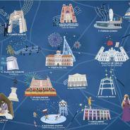 Mapa Navideño de Madrid