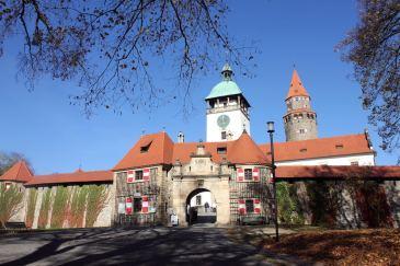Castillo desde puerta principal