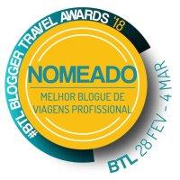 Viaje Comigo nomeado Melhor Blogue de Viagens Profissional pela BTL 2018