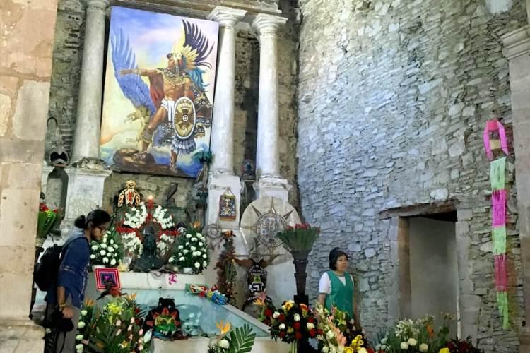 Santuario de Cuauhtémoc en Ixcateopan Guerrero