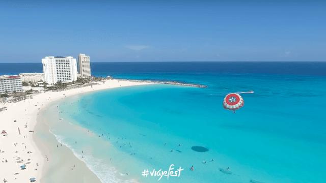 Playa Gaviota Azul en Cancún, Quintana Roo