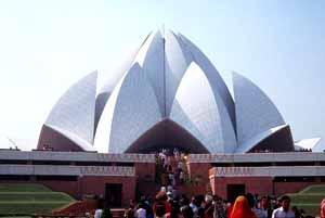 templo de loto en delhi
