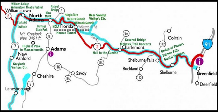 Mohawk Trail Tour