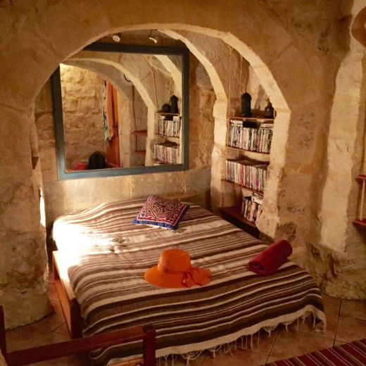 Cave room in Gozo, Malta