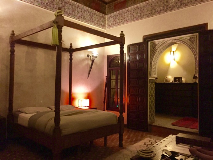 This bedroom in a riad in Marrakech is the stuff dreams are made of