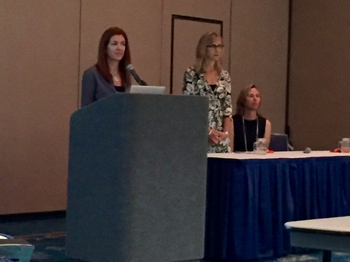 Learning from Amie O'Shaughnessy, Sandy Pappas and Kristi Marcelle of Ciao Bambino about services for my niche