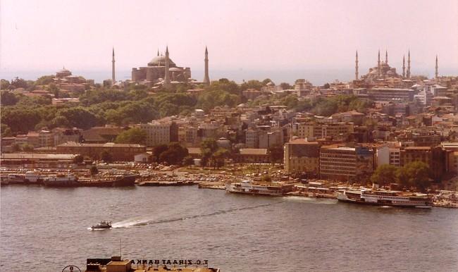 Vista de Estambul desde la Torre Gálata