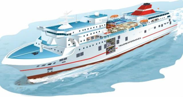 Esquema del buque ADRIATICO