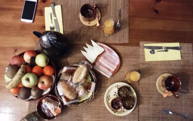 Desayuno para dos en Torrefuerte Rural