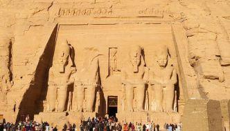 Templos de Abu Simbel, Egipto.