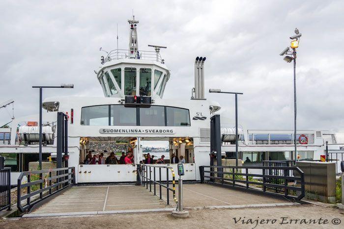Ferry Isla Suomenlinna(2)