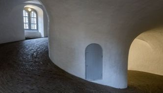 La Torre Redonda o Rundetaarn en Copenhague