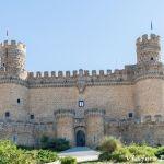 Castillo de Manzanares el Real, en Madrid.