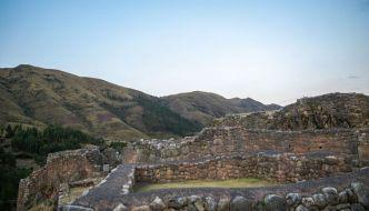 Puca Pucara, la Fortaleza Roja del Inca.