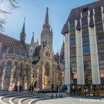 Iglesia de Matías en Budapest.