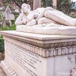 Cementerio Protestante de Roma. Uno de los más bellos de Italia.