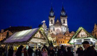 mercadillos navideños de Praga
