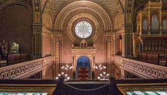 sinagoga española praga