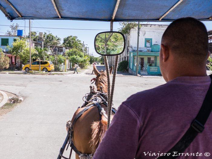 carro de caballos en Cienfuegos