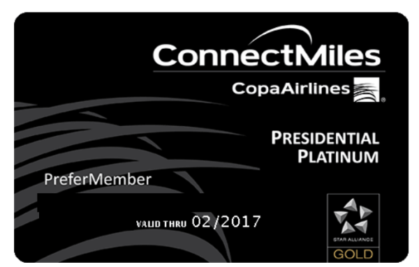 CopaConnectMilesCard