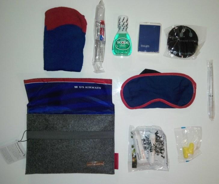 Amenity Kit AA B777 MAD-DFW