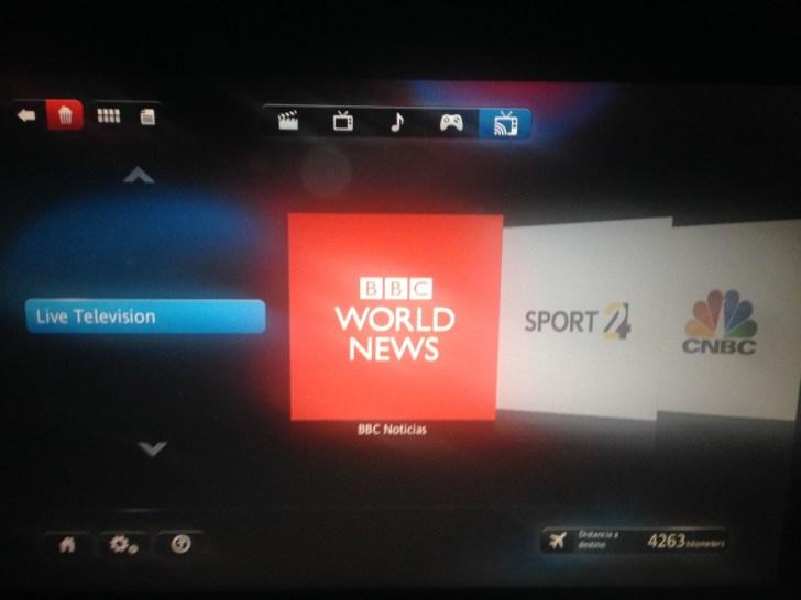 Live TV Televisión en Vivo American Airlines 777-300ER