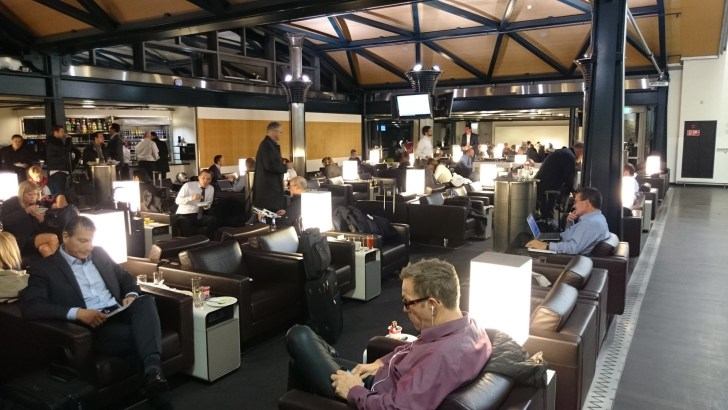 Swiss Air Business Lounge - Zurich ZRH -28