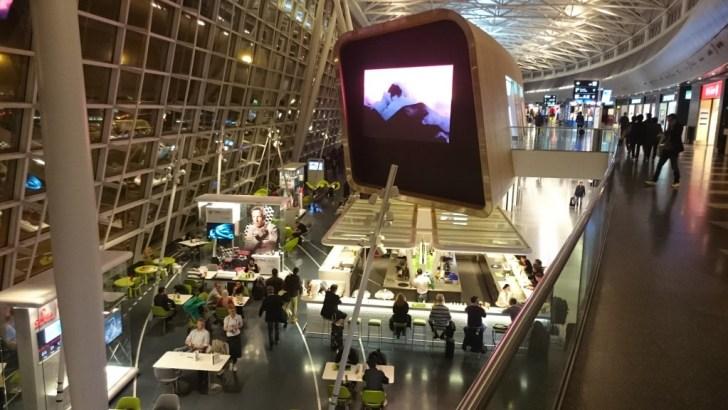 Zurich ZRH airport - Oneworld y Skyteam Lounges Priority Pass-06