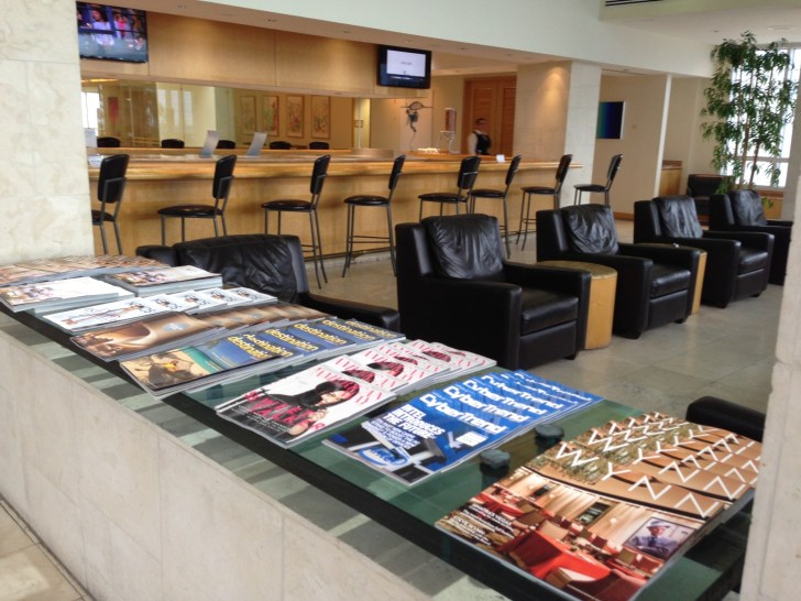 Sala VIP lounge oneworld en Terminal E de Miami - MIA-37