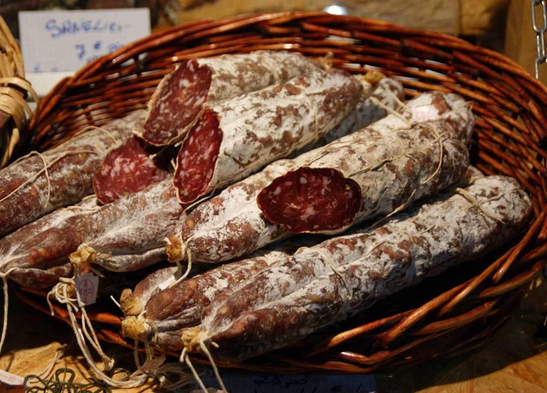 Les saucissons Corses