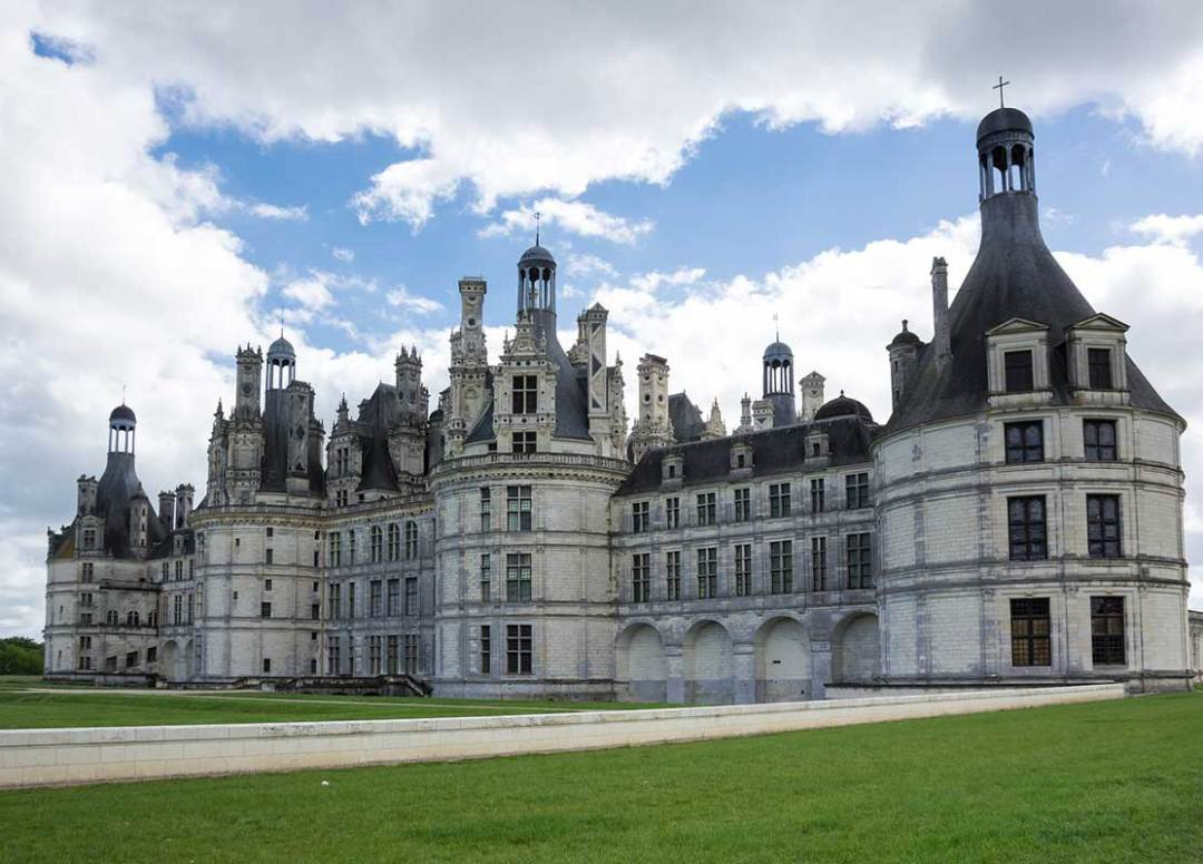 The royal Chateau de Chambord