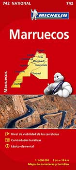 Mapa Michelín Marruecos