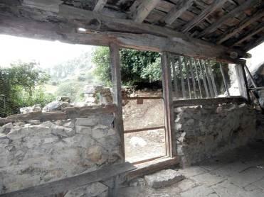 La puerta del atrio vista desde dentro