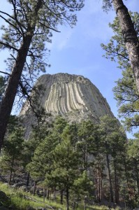 Devil's Tower, la montaña que roza estrellas