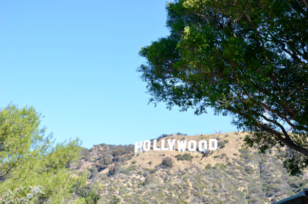 Visitar el cartel de Hollywood