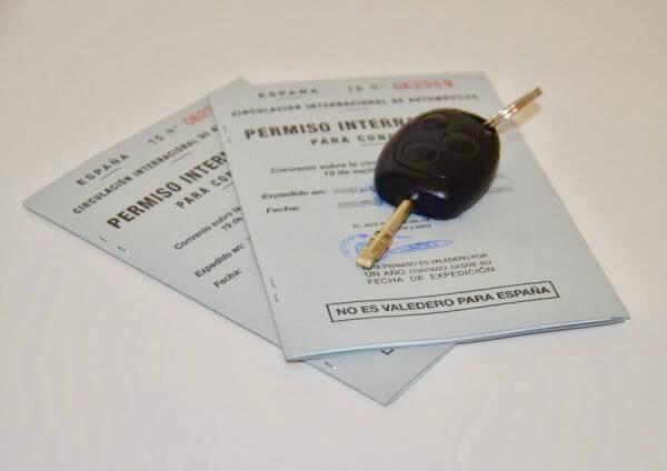 Permiso de conducir internacional para Estados Unidos