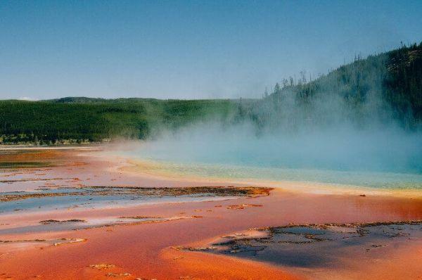 Visitar los géiseres de Yellowstone National Park