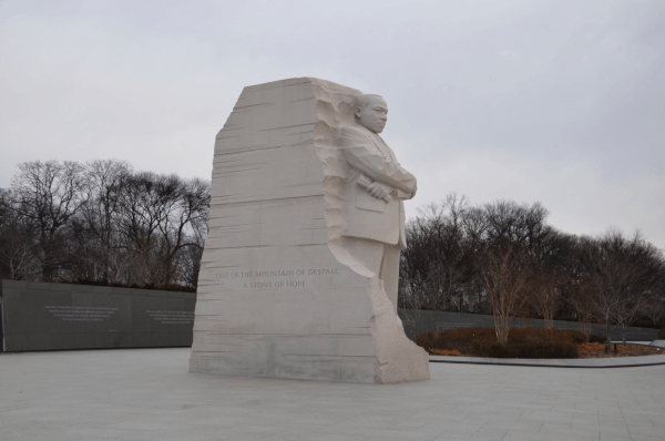 Estatua en Washington D.C. de Martin Luther King Jr.