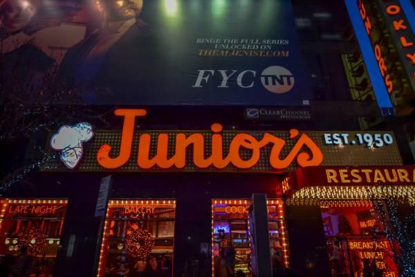 Hamburguesería Juniors Nueva York