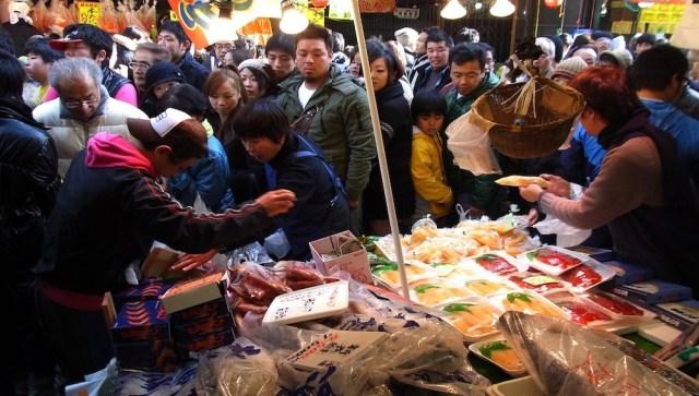 De compras por Tokio