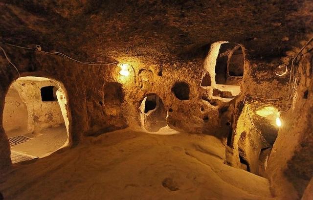 ciudad subterranea turquia