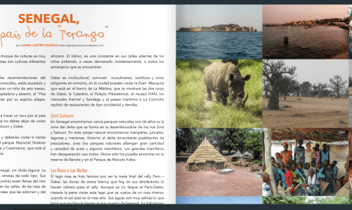 "Senegal ""Blogirls 2.0 Magazine: Verano"""