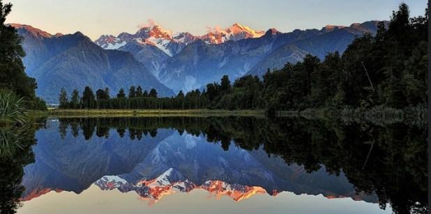 Lago Matheson (Nueva Zelanda)