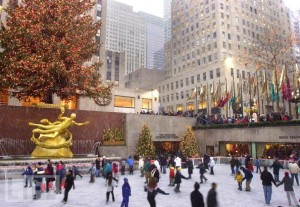 Ice Rink Rockefeller Center