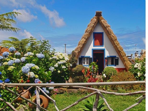 casa típica de MAdeira