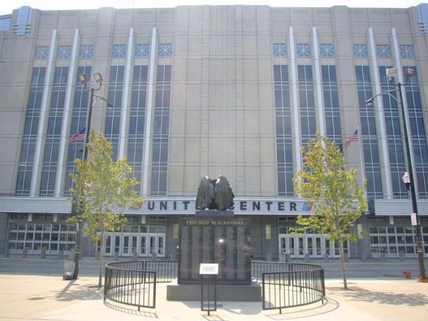 Entrada estadio Chicago Bulls