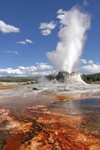 Geyser de Yellowstone